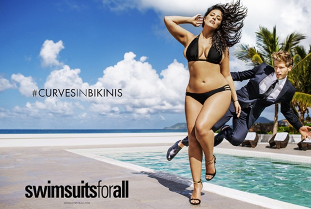 Sports Illustrated #CurvesInBikinis ad.