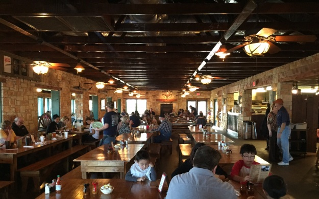 The Salt Lick in Round Rock, Texas.