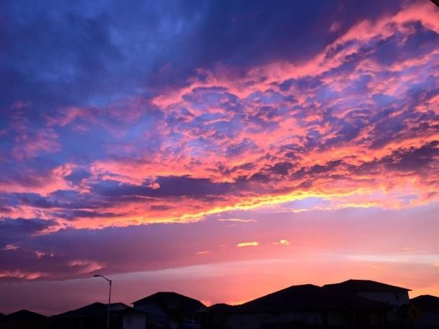 Another beautiful Texas sunset.